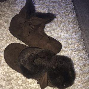 Steve Madden slipper boots